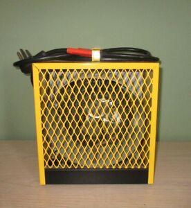 chaufferette de chantier 4800 watts 220 volts
