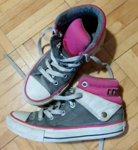 Chaussures montantes converse fillette grandeur 13