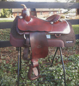 Perfect Saddle for Western Dressage