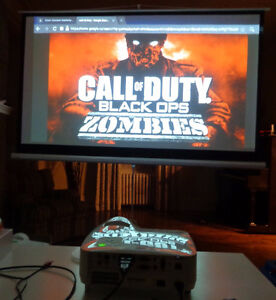 ATTENTION GAMERS! PLAY XBOX ON A 100 INCH SCREEN FOR $250!!!