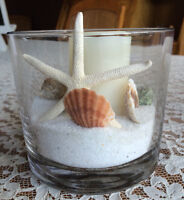 Beautiful Centrepieces for Nautical or Beach Wedding