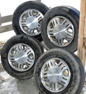 Jantes (MAGS) + Goodyear Integrity 215-70R15