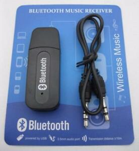 NEW 3.5mm Stereo Audio Music Speaker USB Bluetooth Wire Receiver