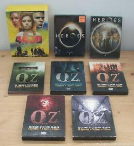 DVDs- Sci Fi TV series Box Sets.....  Heros Oz & The 4400