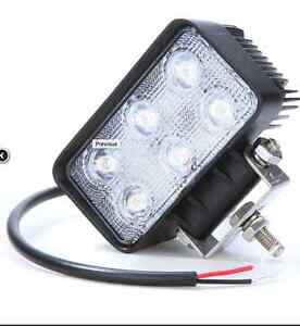 18W 6x 3watt EPISTAR LED Flood Light Off Road Lamp Bar