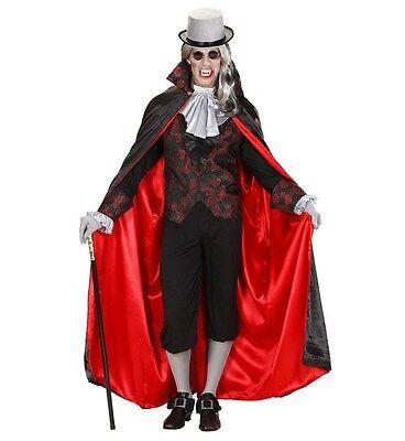 COSTUME DA VAMPIRO DRACULA PER UOMO TAGLIA L/XL CARNEVALE HALLOWEEN 110 89423 (Kostüm Da Vampiro)