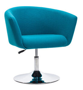 FABRIC SWIVEL ADJUSTABLE OFFICE CHAIR Peterborough Peterborough Area image 3