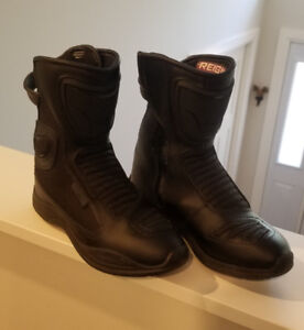 Reign Icon Motorcycle Boots
