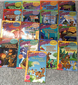 Scooby Doo level one picture clue books