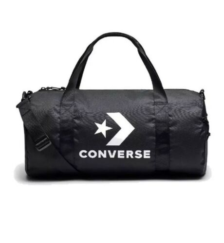 be9e5a4d Converse All Star Duffle Shoulder Bag Black / White Logos New 2019 фото