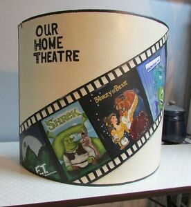 Wood Hand Painted Home Theatre Sign Cambridge Kitchener Area image 1