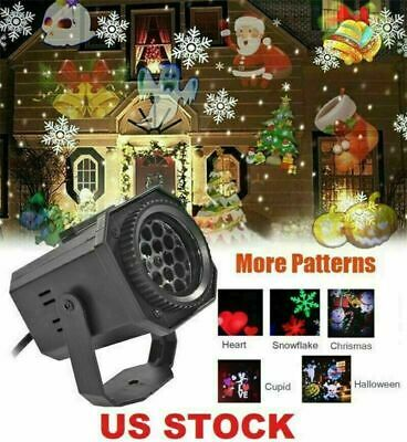 Christmas Lights Projector LED Laser Outdoor Landscape Xmas Move Lamp Xmas Gift