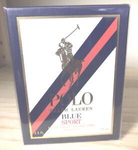 Ralph Lauren Polo Blue Sport 2.5oz Men's Cologne Brand New