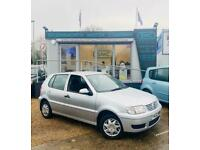 2001 Silver Y POLO Match 1.4 100K APR MOT SPARES OR REPAIRS! NO POWER STEERING