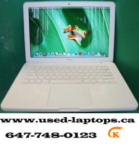 13'Macbook A1342 (C2D/4G/320G/Webcam/OSX high Sierra)$359!