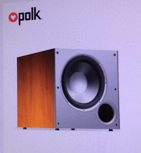 Polk Audio PSW10 10-Inch Monitor Series Powered Subwoofer,