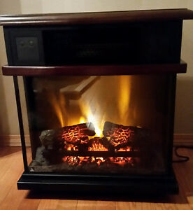 Like New Chimney-Free Infrared Portable Fireplace Heater