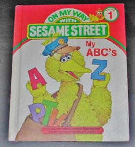 On My Way With Sesame Street My ABC's (1989) Hardcover