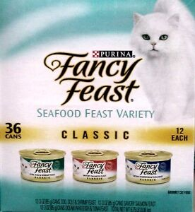 36-CANS-Purina-Fancy-Feast-Classic-Seafood-Feast-Variety-Cat-Food