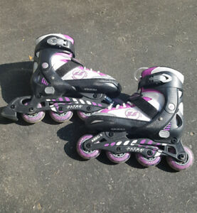 Kids Inline Skates - Adjustable sizes 1-4.