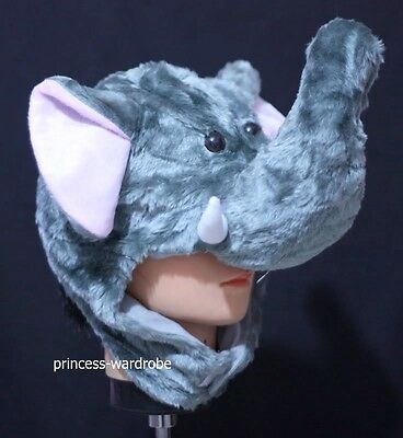 Cute Costumes For Halloween Party (For Halloween Funny Cute Elephant Hat Party Costume ONE Free Size Gift)