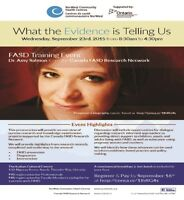 FASD Training Event:  Dr. Amy Salmon