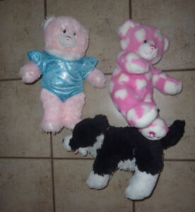 8 Built-A-Bear pets (3 bears, 3 dogs) $ 5 each or all for $ 30!