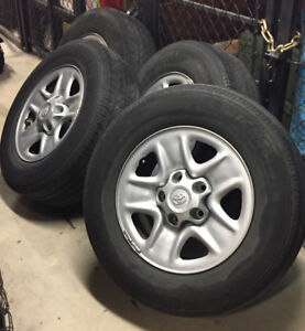 Wheels & Tires from 2010 Toyota Tundra