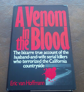 A Venom in the Blood, Eric van Hoffman, 1990 Kitchener / Waterloo Kitchener Area image 1