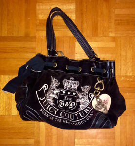 Sacoche en velour Juicy Couture purse *Genuine*