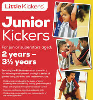 Indoor Soccer for Children 2.5 - 3.5 years of age