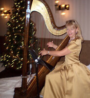 Elegant Harp Music for your Holiday Festivities!