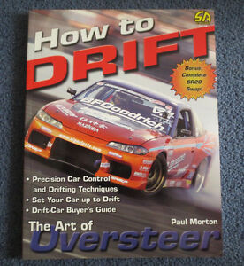 HOW TO DRIFT   NEW BOOK Cambridge Kitchener Area image 1