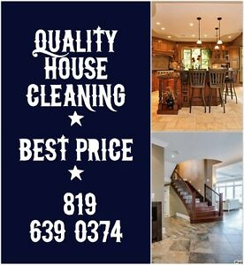 $17 Hrs  Hull, Aylmer, & Gatineau, House Cleaning  $17 Hrs