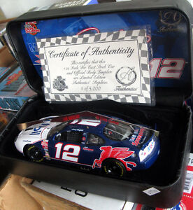 1/24 Authentic Nascar Mobile1 RCA Mayfield Diecast / Cirtificate