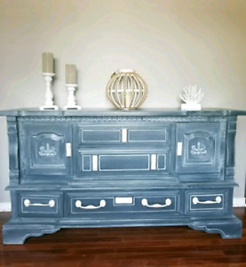 media console table