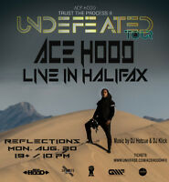 "Ace Hood Live in Halifax! ""Trust The Process II Undefeated Tour"""