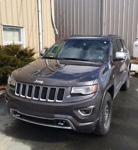 2014 DIESEL-Jeep Grand Cherokee Overland SUV