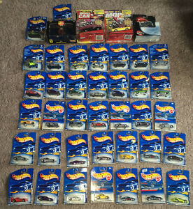Hot wheels & Road Champs Diecast Sports Car Lot of 41 NEW/SEALED