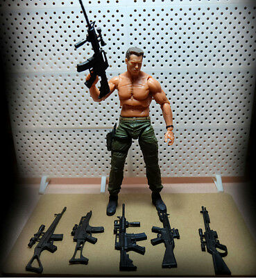 "5pcs/set Weapon Gun Accessories Fits 6"" X-Men Deadpool Logan Figure Action Part"
