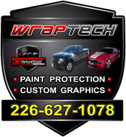 Custom Graphics & Paint Protection!
