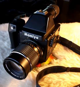 Mamyia 645E Cameras with 150 mm f 4 lense.