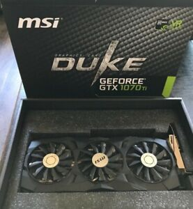 MSI GTX 1070 TI 8GB Duke with warranty