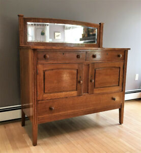 Newly Restored Antique Oak Buffet