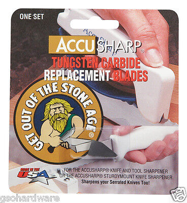 AccuSharp REPLACEMENT BLADES Hone for Knife Sharpeners (Accusharp Replacement Blade)