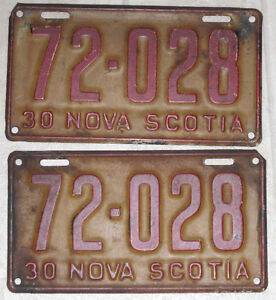 Vintage Nova Scotia Licence plates Swap meet Saturday oct 1
