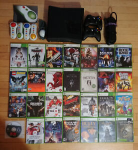 Xbox 360s Lot with 28 games