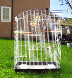 extra large bird cage, almost new