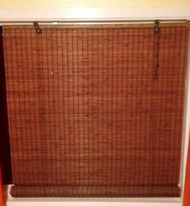 "Bamboo Roll-up blind 30""x71"""