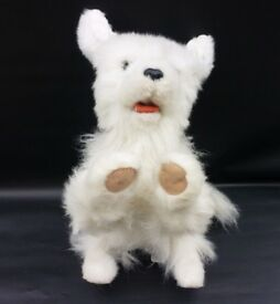 Hasbro Furreal Friends Scamps - My Playful Puppy - white Dog